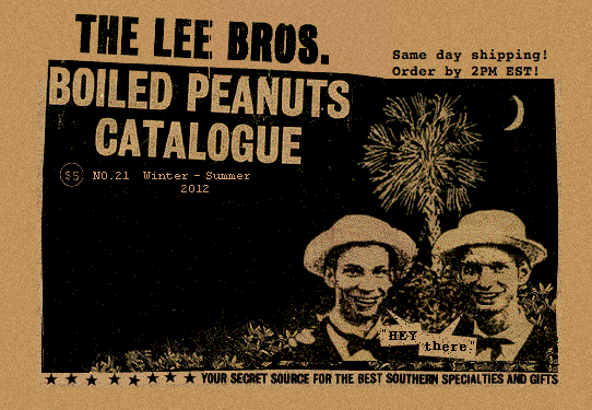 the lee brothers boiled peanuts