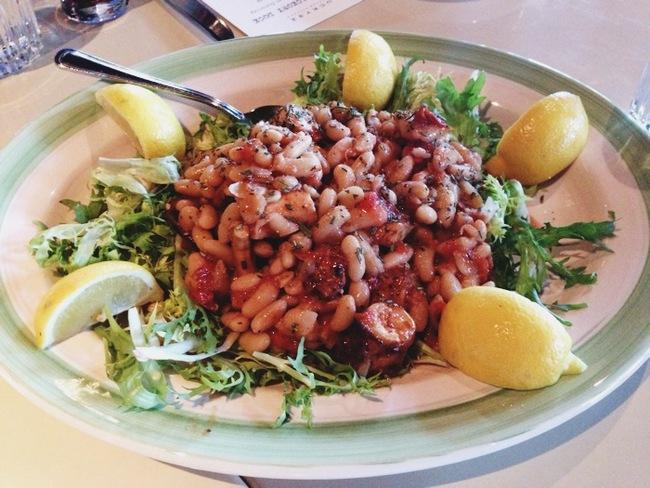 Charred Octopus Salad Recipe — Dishmaps
